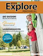 2021 Explore Pa magazine cover
