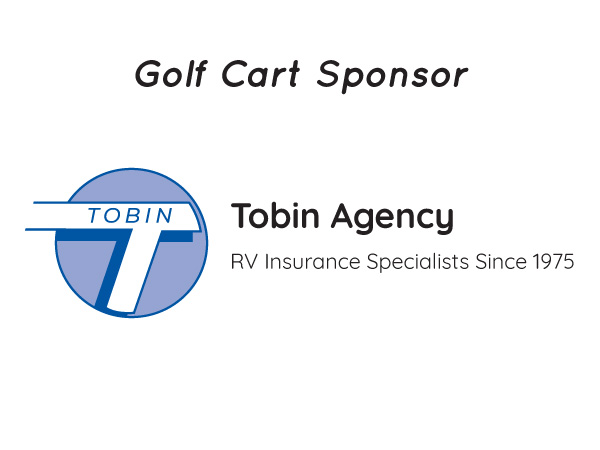 Tobin Agency - Golf Cart Sponsor