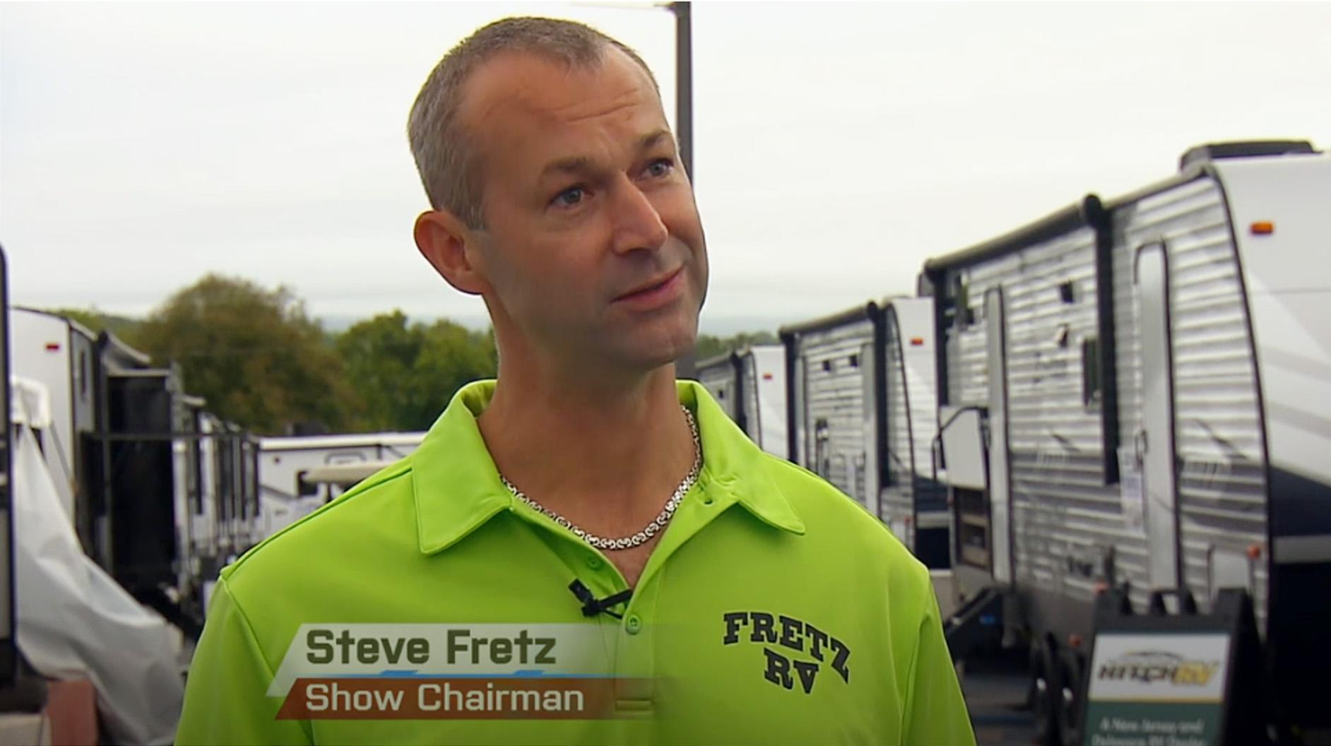 Steve Fretz, Fretz RV, America's Largest RV Show Chairman