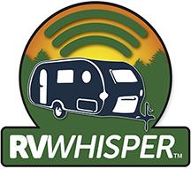 RV Whisper logo