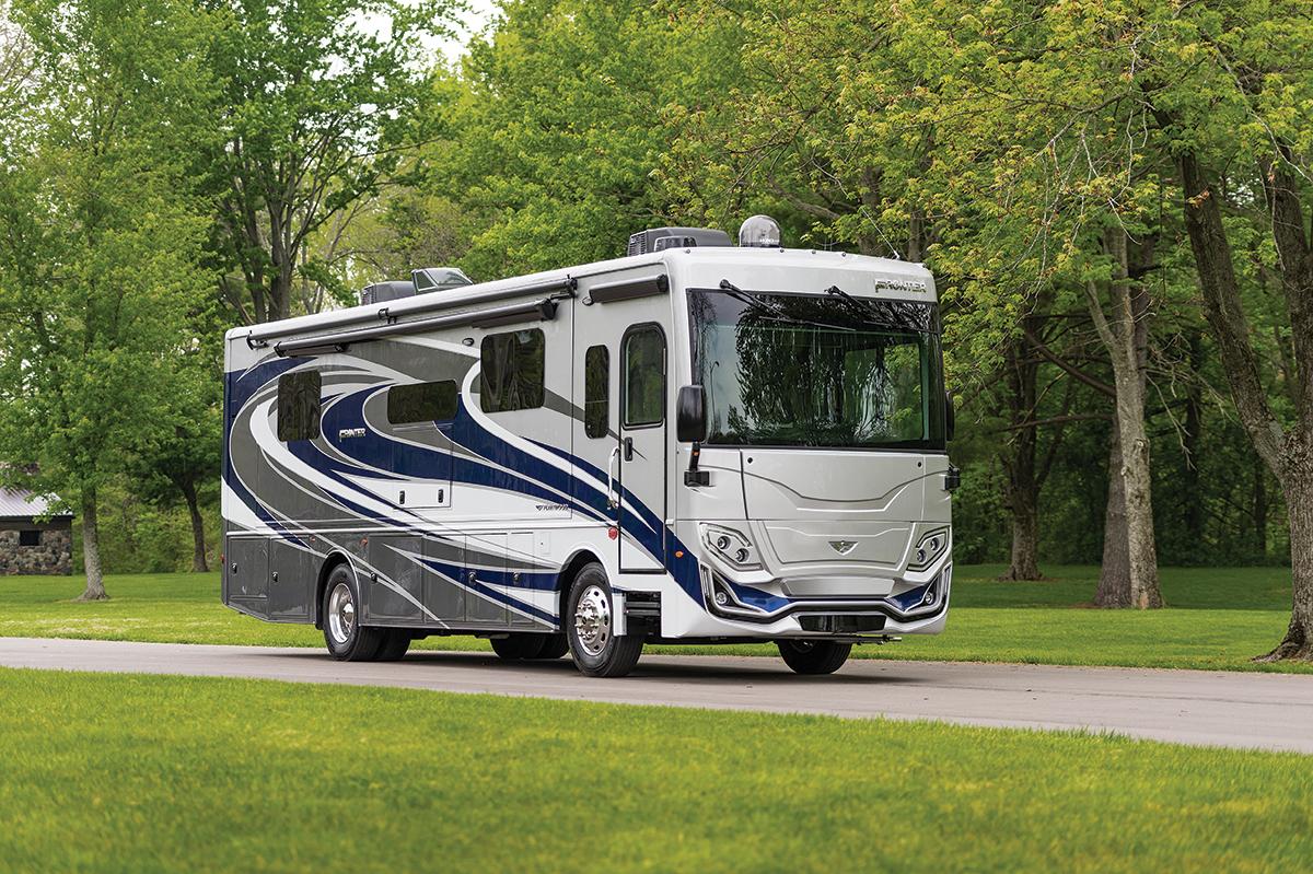 Frontier luxury motor coach from Fleetwood RV