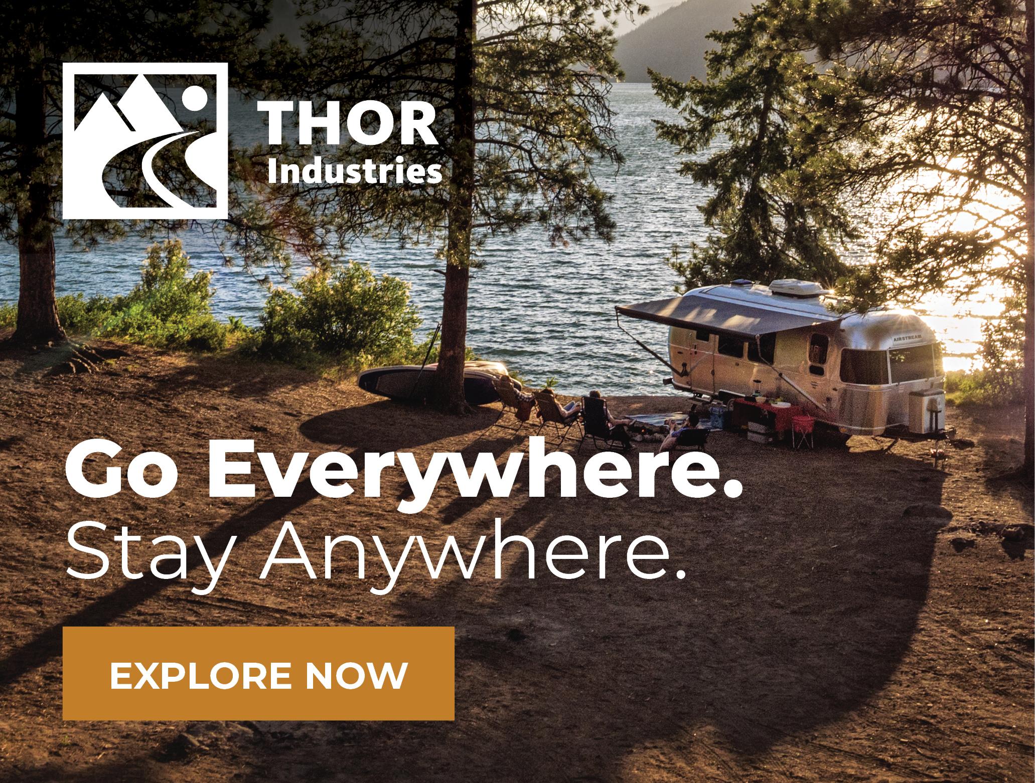 Thor Industries - Platinum Sponsor Ad