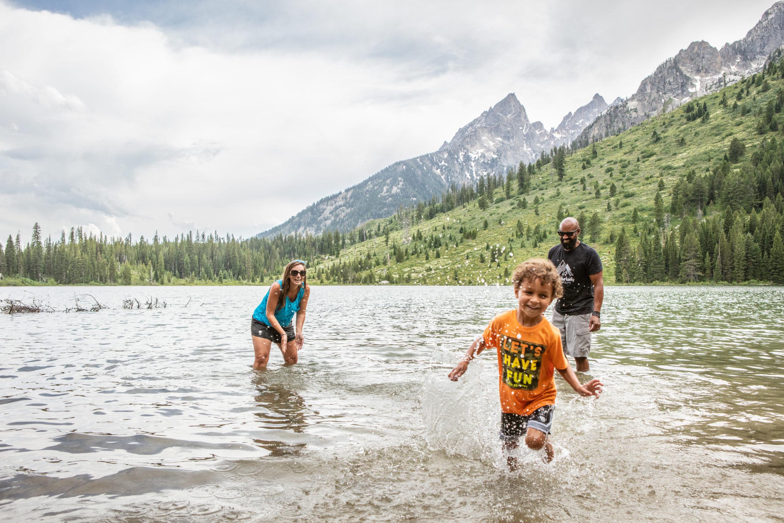 Adventurtunity Family at Tetons
